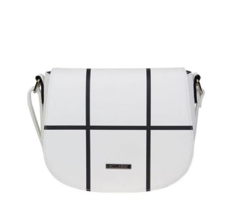 BULAGGI  White Cross body bag Poppy
